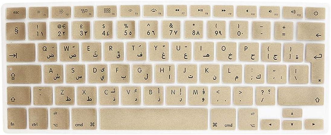 Etiqueta engomada de la cubierta del teclado del silicón ...