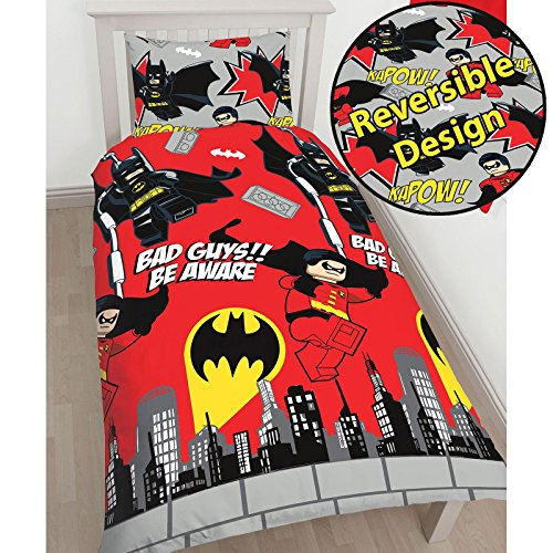 Superheroes Batman Kapow Single Duvet
