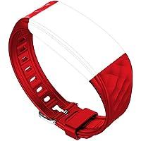 Fitness Tracker, tigerhu S2Bracelet de rechange, pour S2Smart Bracelet de Tracker Montre moniteur de fréquence cardiaque étanche IP67Fitness Santé Smart Watch Wrist Band Bluetooth podomètre.