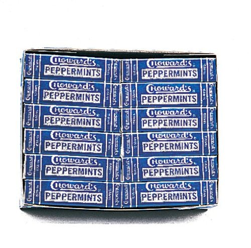 C. Howard Peppermint Candies, 0.87-Ounce Boxes (Pack of 24) (24ct Peppermint Box)
