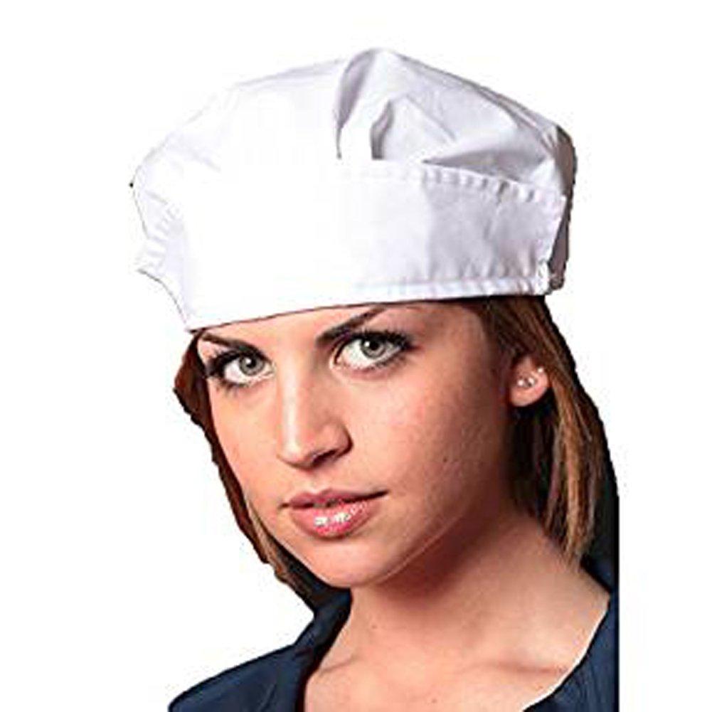 Fratelliditalia Cuffia lavoro cappellino cotone operaia cucina alimentari igiene protezione