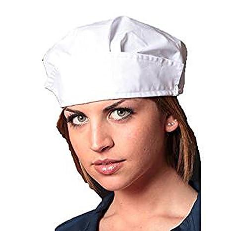 Fratelliditalia Cuffia Lavoro Cappellino Cotone operaia Cucina Alimentari  igiene Protezione 2324f630c864