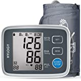 Blood Pressure Monitor, HYLOGY Digital Upper Arm blood pressure Monitor for home use with Cuff 8.7 to 12.6 Inch, Large Screen Display and 2 Users Mode (2*90 Memory Storage)