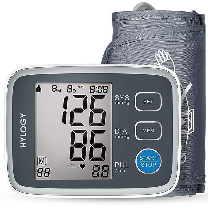 150 opinioni per HYLOGY Misuratore Pressione da Braccio Digitale, Sfigmomanometro da Braccio