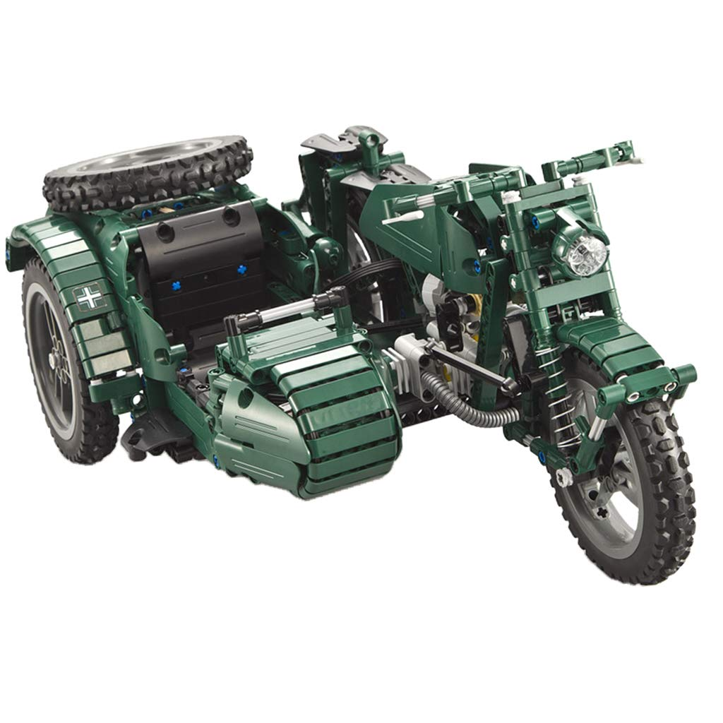 Kesoto Blocks Motorcycle Toy Model Giocattolo Adulto kit Modello di Moto Giocattolo di Simulazione di Assemblaggio