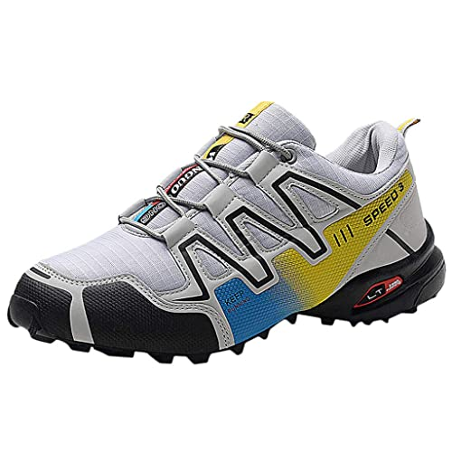 Logobeing Zapatillas de Senderismo Antideslizantes Seguridad La Zapatilla de Hombre Calzado de Correr En Montaña Aire Libre y Deporte Calzado de Trail ...