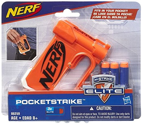 Hasbro Nerf B6259EU4 - N-Strike Elite PocketStrike, Toy Blaster
