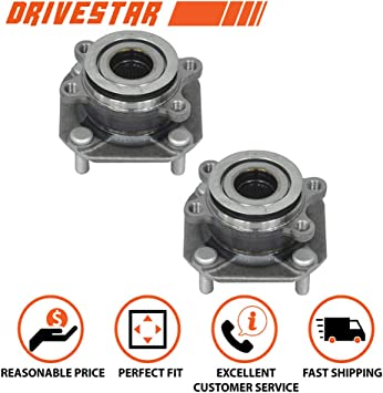 MOOG Front Wheel Bearing and Hub Assembly 2 PCS For Chrysler Pacifica 2007