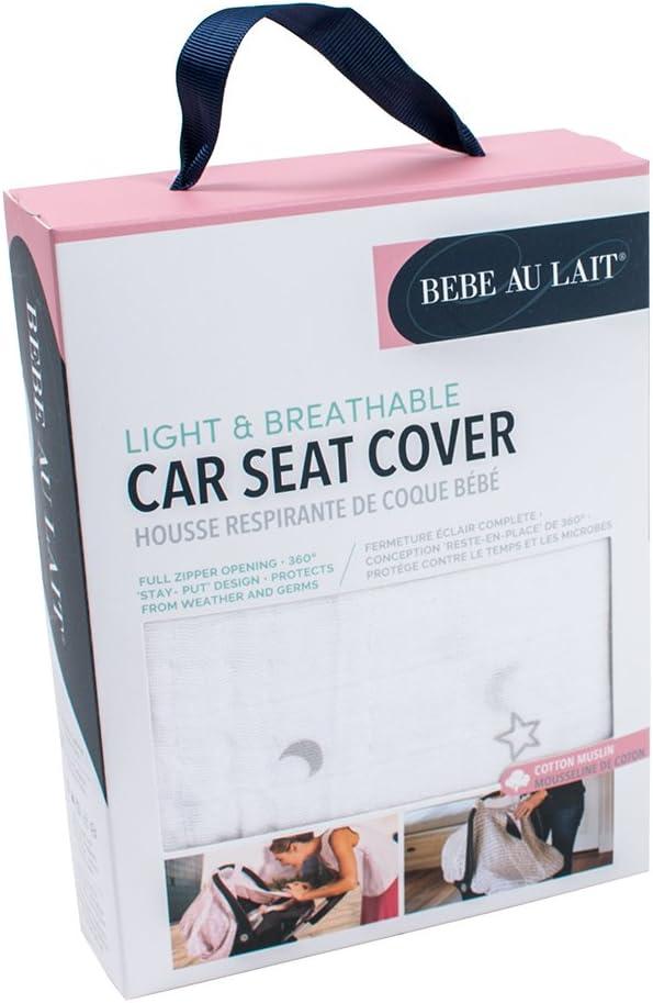 Luna Bebe au Lait Premium Muslin Car Seat Cover