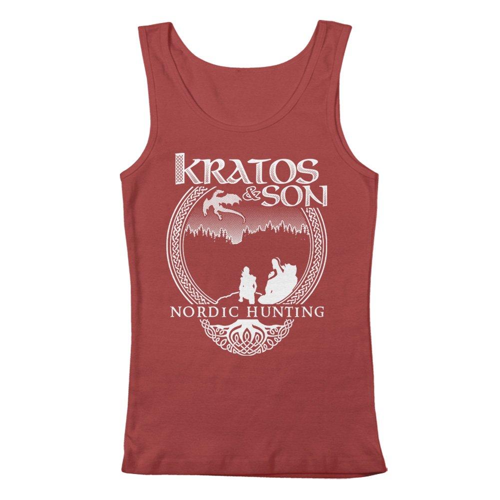 GEEK TEEZ Kratos /& Son Nordic Hunters Mens Tank Top