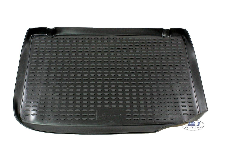 J/&J AUTOMOTIVE Tapis DE Coffre Caoutchouc Premium Compatible avec Renault Clio III 2005-2012