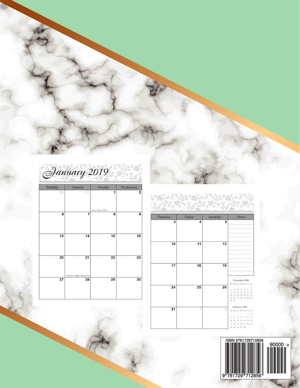 Calendar November December 2020 Monthly 2019 2020 Monthly Planner: Two Year   Monthly Calendar Planner, 24