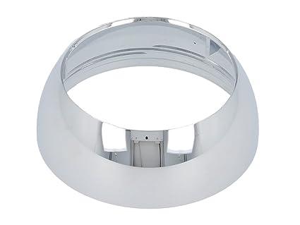 KLUDI 93018605-00 - Embellecedor para cartucho de grifo monomando (plástico cromado, 33