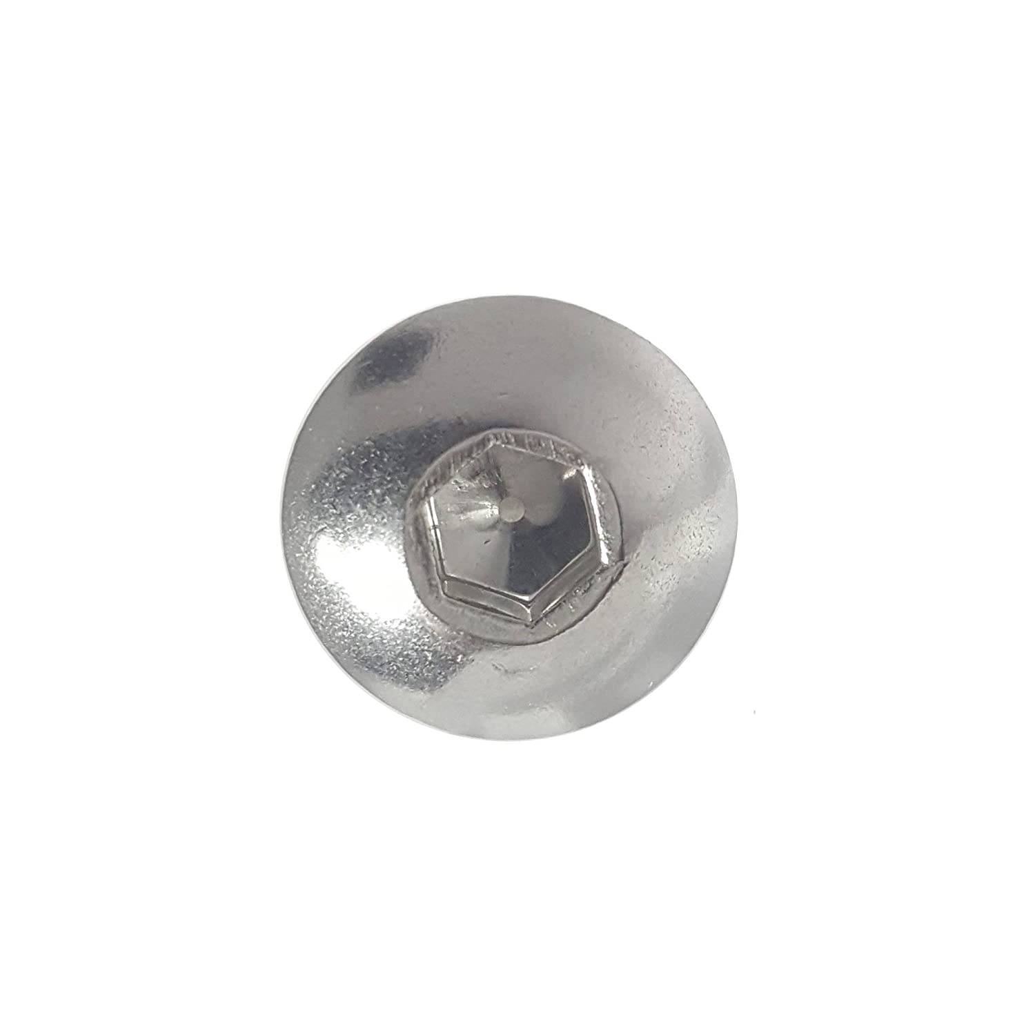 Bright Finish Allen Socket Drive Quantity 25 By Fastenere Lightning Stainless Machine Thread Stainless Steel 18-8 1//4-28 x 1 Button Head Socket Cap Screws Full Thread