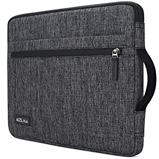 "kizuna 12.5-13 Inch Laptop Sleeve Case Water Resistant Computer Carrying Bag for 13.3"" MacBook Air 2020/13.9"" Huawei MateBook X Pro/14 Lenovo Yoga C940/13.3"" Yoga 730 720 S730/Dell Latitude 7390,Grey"