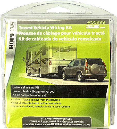 amazon com hopkins 55999 universal towed vehicle wiring kit wiring a jeep wrangler for flat towing at Wiring A Towed Vehicle