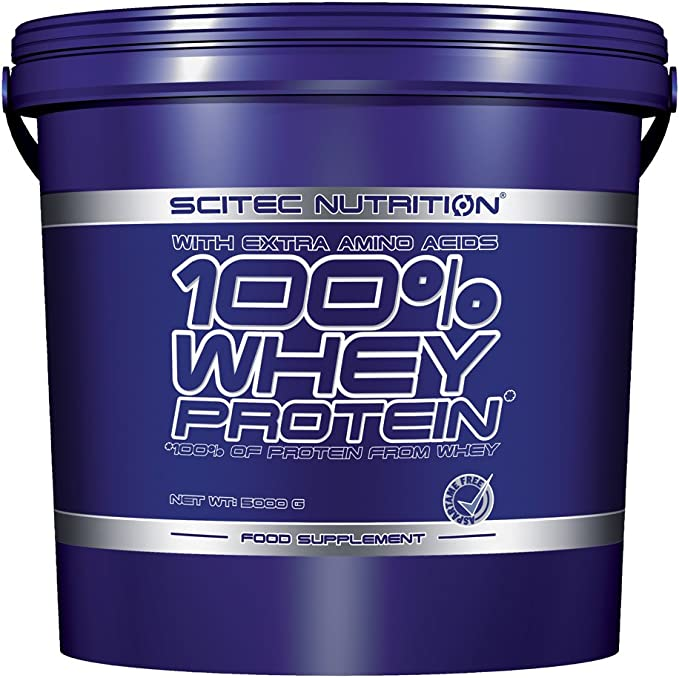 SCITEC Nutrition 100% Whey Protein - 5 kg Chocolate