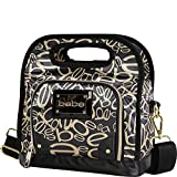 Stylishly enjoy your meals with bebe spacious lunch tote