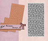 PrintValue Polymer Texture Stamp Flexible Rubber Abstract Circle Pattern Template DIY Craft Supply for Fabric & Paper