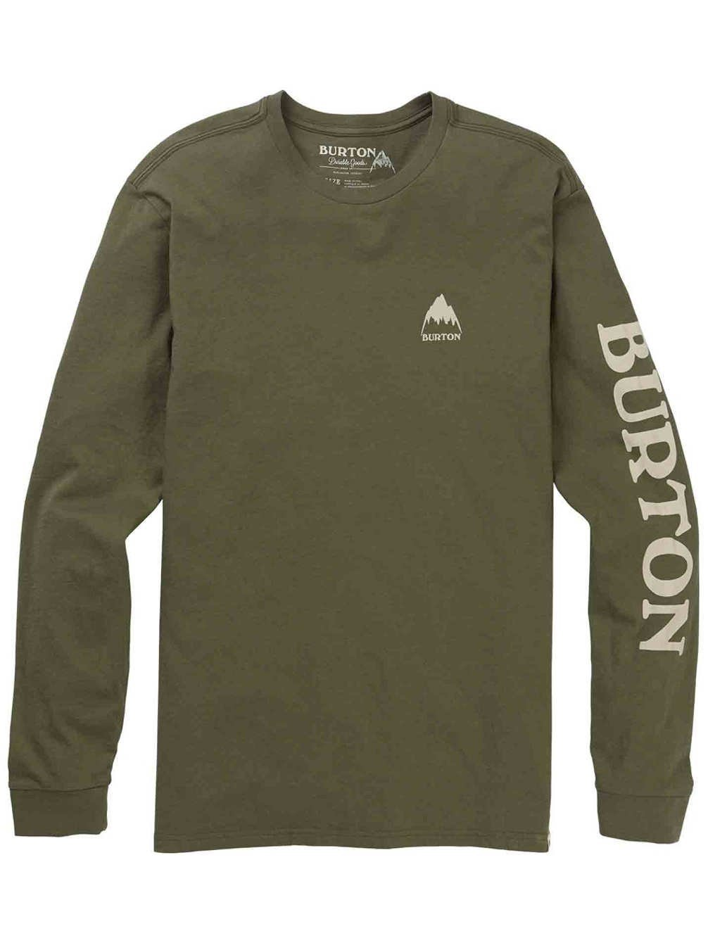 Burton Elite Long Sleeve Camiseta, Hombre 20392100020