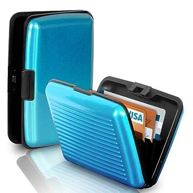 258c35ecf9d1 PURSHO Aluminium Security Wallet for Credit Card Debit Card ATM Card ...
