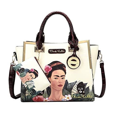 Amazon.com: Frida Kahlo Jungle Collection Licensed Handbag ...