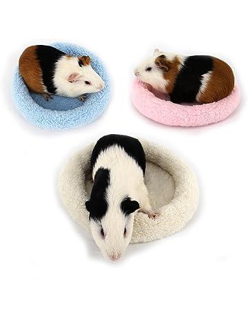 Biniwa – 1 Pieza Cama para Mascotas Redonda de Terciopelo cálido, cojín para Dormir,