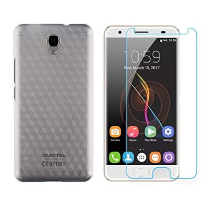 Amazon.com: OUKITEL OK6000 Plus Funda, PC Plástico Duro ...