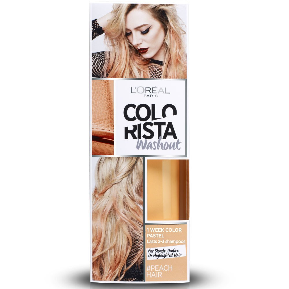 L'Oréal Paris Colorista Washout Pastel Colorazione Capelli Temporanea, Rosa Scuro (Dirty Pink) L'Oréal Paris A9083700