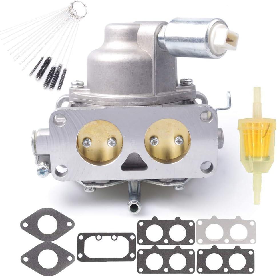 Dosens 799230 Carburetor Carb Replacement for Briggs & Stratton V-Twin 4 Cycle 20HP 21HP 23HP 24HP 25HP Vertical Engines Replace # 791230 795967 John Deere L111 L118 L120 LA120 LA130 LA135 LA140 LA145