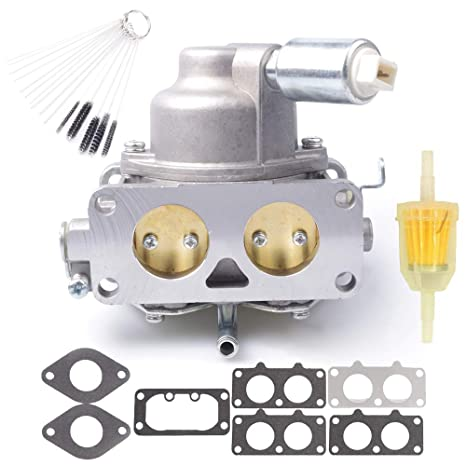 Dosens Carburetor Carb Replacement for Briggs & Stratton 791230 799230  699709 499804 V-Twin 20hp 21hp 23hp 24hp 25hp Manual Choke with Gasket &  Carbon