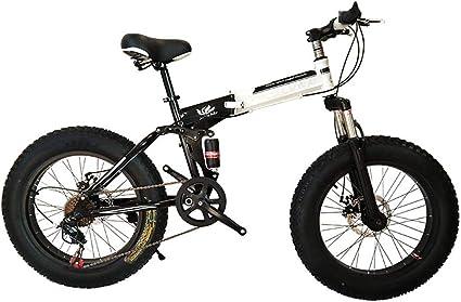 Dapang Bicicleta de montaña Plegable, 20 Pulgadas, Velocidad ...
