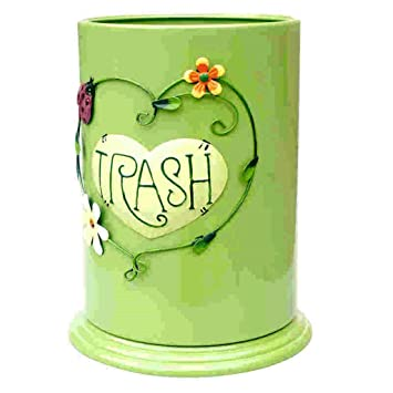 Poubelle ronde, poubelle de cuisine américaine de style créatif ...