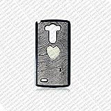 Krezy Case LG G4 case, Lg G4 Phone case, heart on wood (Not a real wood) Lg G4 case, Cute Lg G4 case
