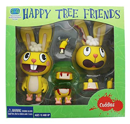 Amazon com: Happy Tree Friends Cuddles 1st Release: Toys & Games