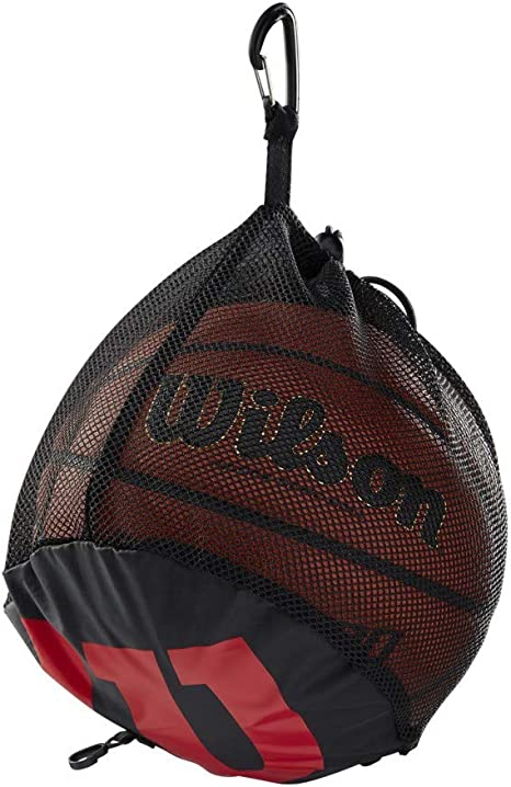 Wilson WTB201910 Bolsa de Red Baloncesto para 1 Pelota, Unisex ...