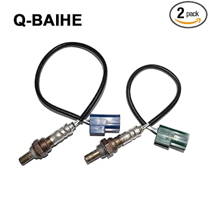 New 2pcs Oxygen O2 Sensor Front Rear For 2002 2003 Nissan Altima Maxima 2.5L