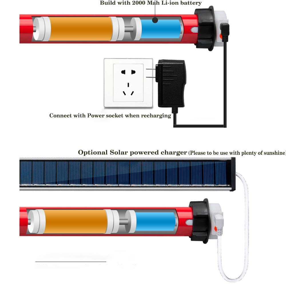 AM15 RF Battery Motor Build Internal Re-Chargeable Lithium to Automatic Motorized Blinds Compatible with 25mm Roller Tube