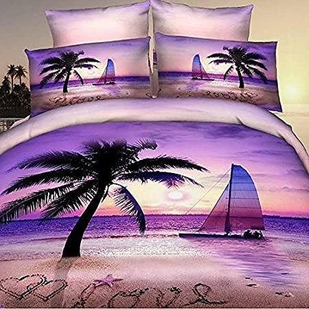 61qBO9PCwxL._SS450_ The Best Palm Tree Bedding and Comforter Sets