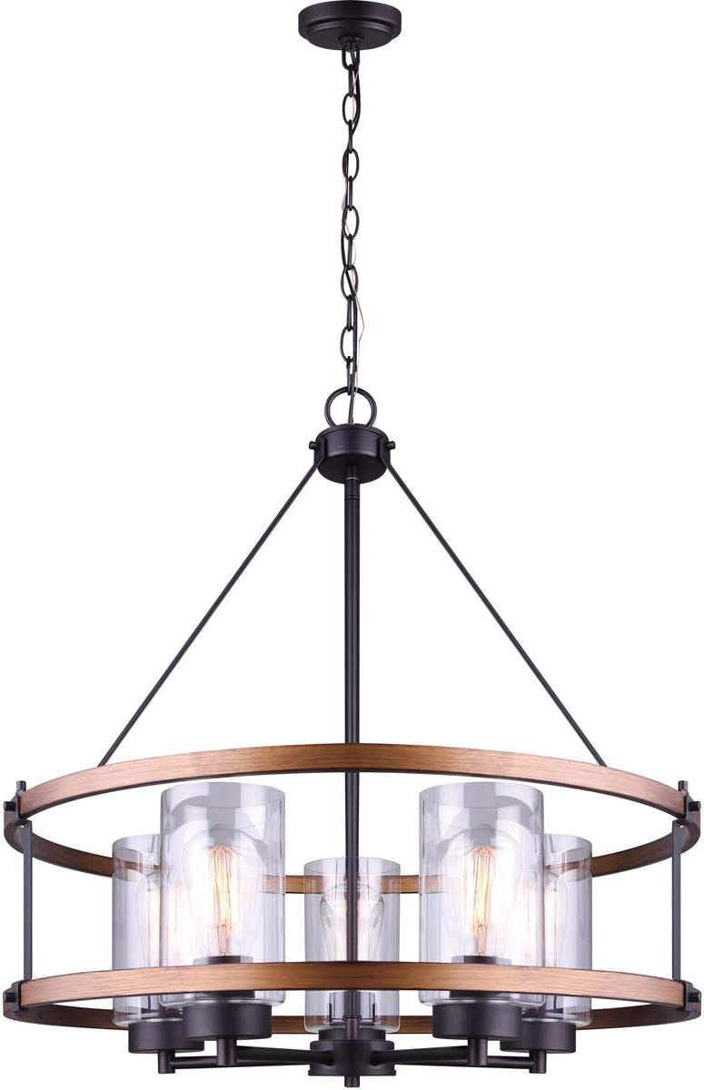 Canarm Canmore Chandelier ICH740A05RBB24