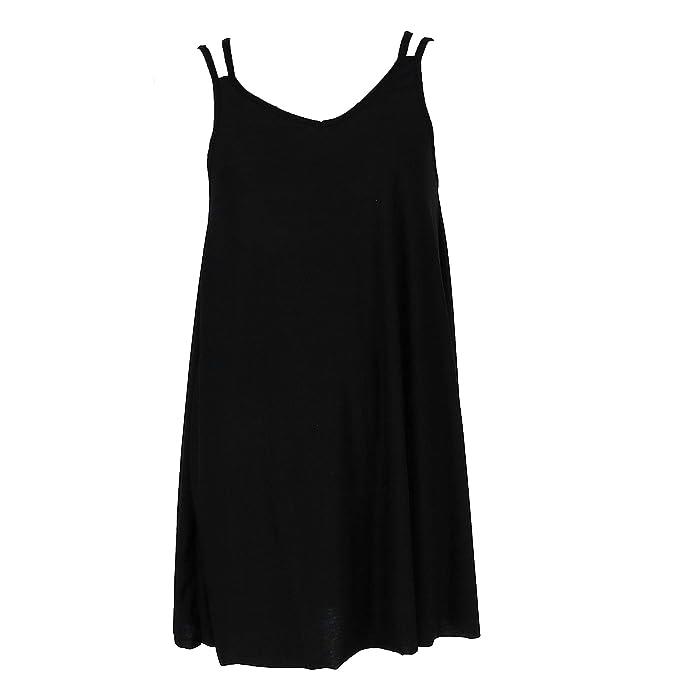 Amazon.com: 5 More Minutes - Vestido sin mangas para mujer ...