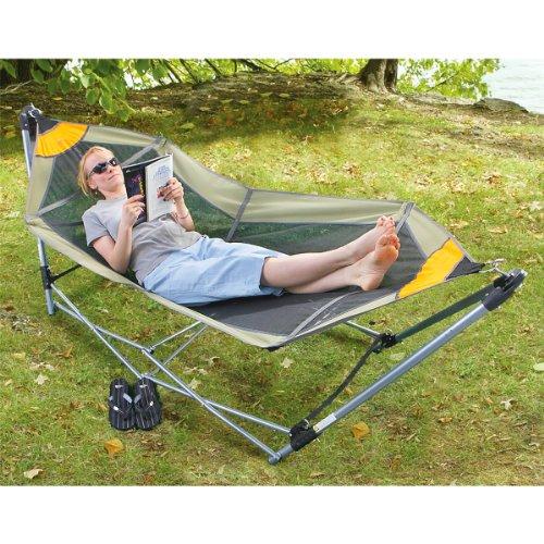 Guide Gear Portable Folding Hammock, Outdoor Stuffs