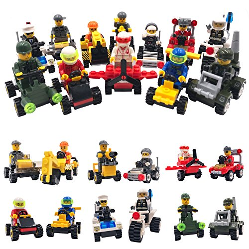 Review Minifigures Lego-Compatible Set –