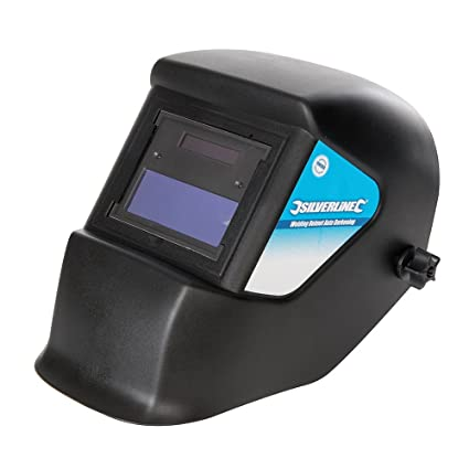 Silverline 934295 Máscara para Soldar Fotosensible, Opacidad Din 3/11 E W