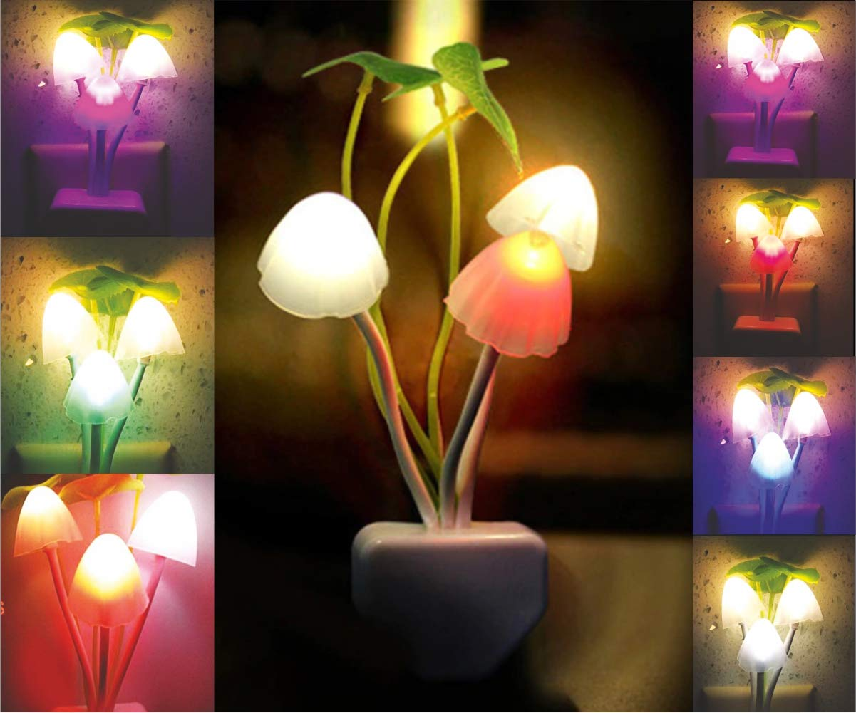 TP TROOPS TP-9016 Mushroom LED LAMP Night LAMP Colour Changing LED LAMP:  Amazon.in: Home Improvement