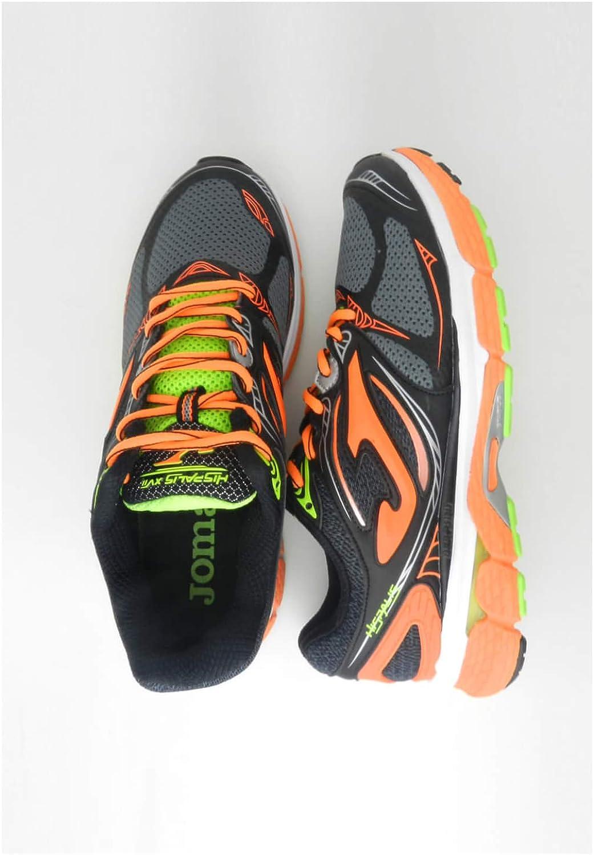 Joma - Running Hispalis 701 Gris Naranja - Gris-Naranja, 42.5: Amazon.es: Zapatos y complementos