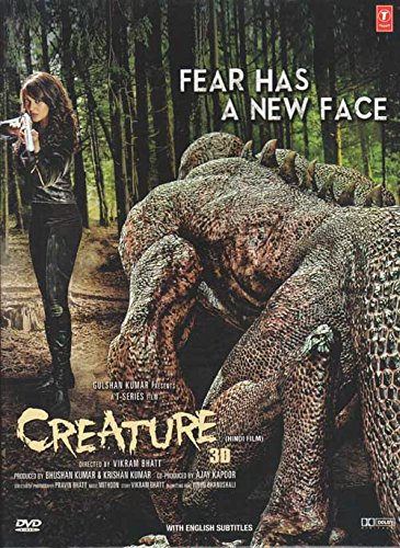 Creature 3D Hindi DVD (2014) (Bollywood/Cinema/Film) Stg: Bipasha Basu, Imran Abbas (Shahrukh Khan Best Images)