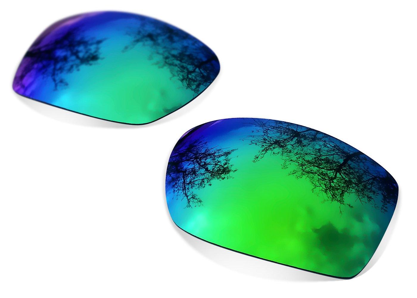 Sunglasses Restorer Lentes Polarizadas de Recambio Sapphire Green para Oakley Big Taco