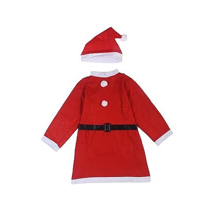 Tinksky 3 unids Traje de Santa Claus de Las Mujeres Traje ...