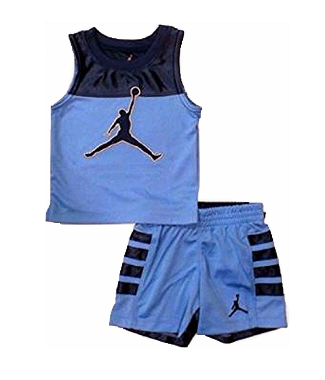 Jordan Little Boys' 2 Piece Tank Shorts Set Size 7